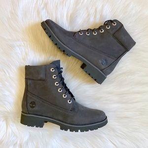 "Timberland Classic Lite 6"" Medium Grey Boots"